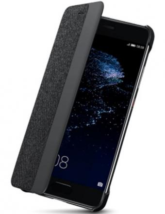Huawei Etui z klapką typu Smart do Huawei P10 ciemnoszare