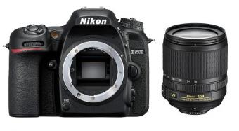 Nikon D7500 + ob. 18-105 VR