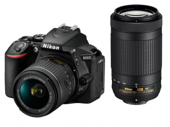 Nikon D5600 + 18-55 AF-P VR + 70-300 VR