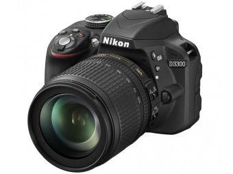 Nikon D3300 czarny + ob. 18-105 VR