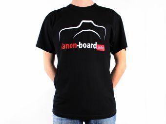 Canon-Board.info - koszulka z logo / rozm. M