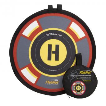 FlatHat lądowiska dla Dronów z oswietleniem FlatHat 40 cm złote