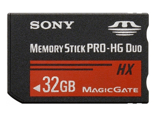 Sony Memory Stick PRO-HG Duo HX 32GB 50MB/s