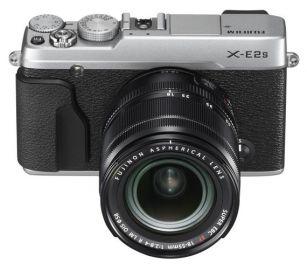 FujiFilm X-E2S srebrny + ob. XF 18-55mm + karta Sandisk 16 GB 80MB/s GRATIS