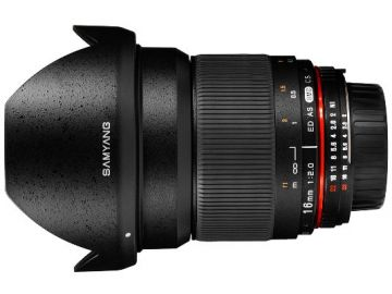 Samyang 16 mm f/2.0 ED AS UMC CS / Canon M