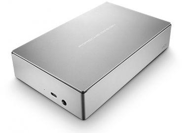LaCie Porsche Design 3.5 4 TB USB 3.0 Srebrny Type C