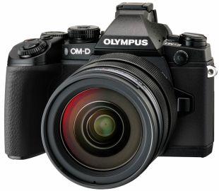 Olympus OM-D E-M1 + ob. 12-40 czarny
