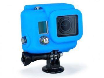 Xsories GoPro Hero 3 pokrowiec silikonowy niebieski