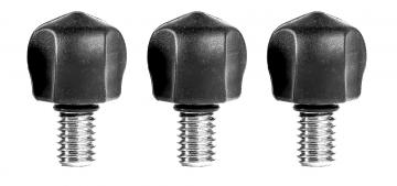 3 Legged Thing Bootz - zestaw 3 kauczukowych stopek (kompatybilne z gwintem 1/4 oraz 3/8 cala)