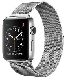 Apple Watch Series 2 38mm ze stali nierdzewnej z bransoletą mediolańską