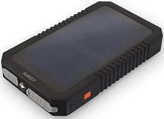 Aukey PB-P8 Ładowarka solarna/słoneczna 12000mAh