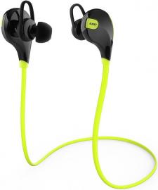 Aukey Bezprzewodowe EP-B4 Bluetooth 4.1 żółte