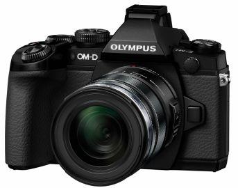 Olympus OM-D E-M1 + ob. 12-50 czarny