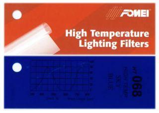 Fomei Filtr kolorowy HT-068 SKY BLUE 61 x 53 cm