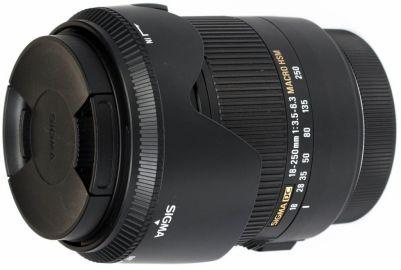 Sigma 18-250 mm f/3.5-f/6.3 DC OS HSM Macro / Canon - powystawowy