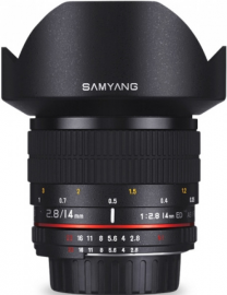 Samyang 14 mm f/2.8 IF ED UMC Aspherical / Olympus 4/3