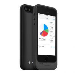 Mophie Space Pack 16 GB - etui z baterią 1700 mAh i wbudowaną pamięcią do iPhone 5/5s/SE (czarne)