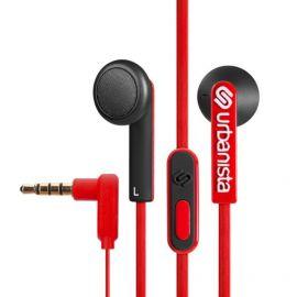 Urbanista Oslo czerwono-czarne  (przycisk PTT, mikrofon, 3,5 mm)