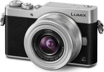 Panasonic Lumix DC-GX800 + ob. 12-32 srebrny