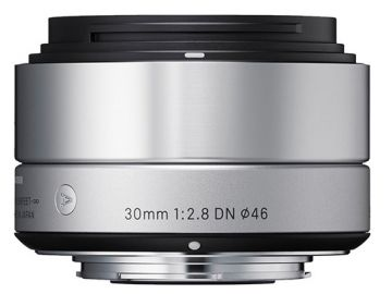Sigma A 30 mm f/2.8 DN / Micro 4/3 srebrny