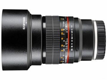 Samyang 85 mm f/1.4 IF UMC / Sony E