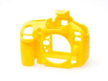 EasyCover  osłona gumowa dla Nikon D600/D610 żółta