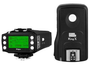Pixel King Pro Wyzwalacz radiowy eTTL do Canon - zestaw