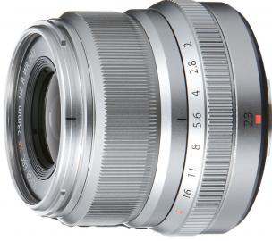 FujiFilm FUJINON XF 23 mm F2.0 R WR srebrny