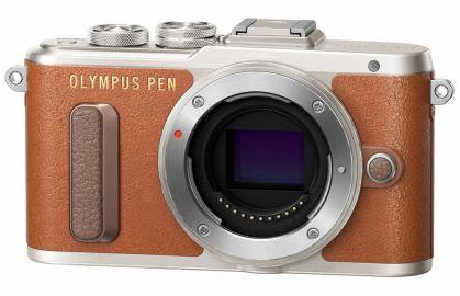 Olympus PEN E-PL8 brązowy
