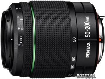 Pentax 50-200 mm f4-f5.6 DA ED WR SMC