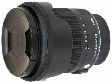 Sigma C 17-70 mm F2.8-F4.0 DC MACRO OS HSM / Nikon - powystawowy