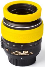 EasyCover osłona na obiektyw dla 52 mm żółta