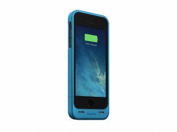 Mophie Juice Pack Helium (kolor niebieski) - obudowa ochronna z wbudowaną baterią (1500mAh) do iPhone 5/5S/SE