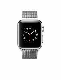 Apple Watch 38 mm ze stali nierdzewnej z bransoletą mediolańską