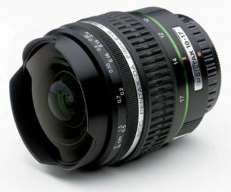 Pentax 10-17 mm f/3.5-f/4.5 DA ED IF Fish Eye
