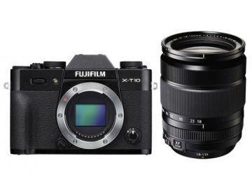 FujiFilm X-T10 czarny + ob. XF 18-135mm