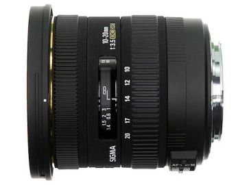 Sigma 10-20 mm f/3.5 EX DC / Sony A
