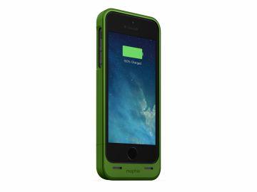 Mophie Juice Pack Helium (kolor zielony) - obudowa ochronna z wbudowaną baterią (1500mAh) do iPhone 5/5S/SE