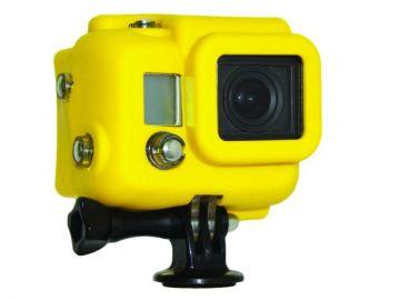 Xsories GoPro Hero 3 pokrowiec silikonowy zakryty żółty
