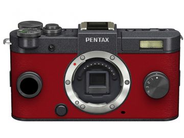 Pentax Q-S1  gunmetal body