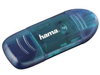 Hama USB 2.0 Cardreader 6w1 niebieski