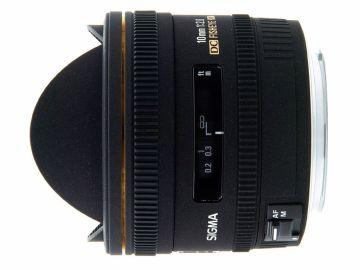 Sigma 10 mm f/2.8 DC EX HSM rybie oko / Canon
