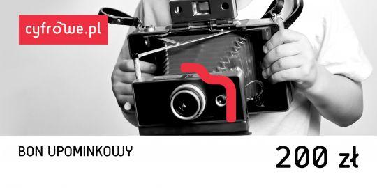 Bony Cyfrowe.pl - bon upominkowy o wartości 200 zł