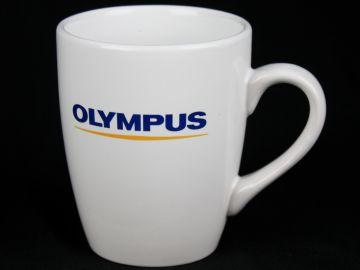 Cyfrowe.pl - kubek porcelanowy z logo Olympus