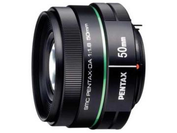Pentax 50 mm f/1.8 DA SMC