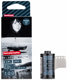 Lomography EARL GREY B&W 100 ISO 3 PCS 135 FILM