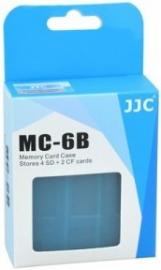 JJC MC-6B na karty pamięci 4x SD/SDHC, 2x CF