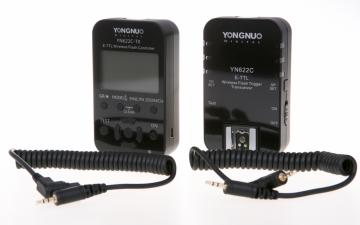 Yongnuo YN-622C KIT LCD zestaw transmiter + nadajnik / odbiornik (stopka Canon)