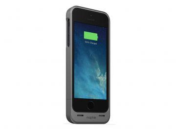 Mophie Juice Pack Helium (kolor grafit) - obudowa ochronna z wbudowaną baterią (1500mAh) do iPhone 5/5S/SE