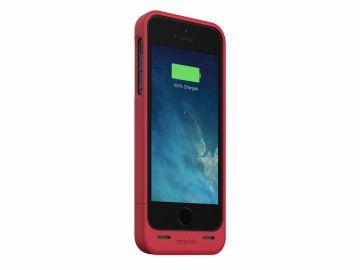 Mophie Juice Pack Helium (kolor czerwony) - obudowa ochronna z wbudowaną baterią (1500mAh) do iPhone 5/5S/SE